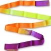Band 6 meter, flerfärgat - Lila/Orange/Gul