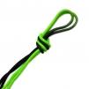 Flerfärgat rep - FIG - Svart/Grön