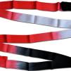 Band 5m flerfärgat - Röd/Vit/Svart