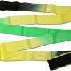 Band, flerfärgat Pastorelli - FIG - Svart/Gul/Grön 6 m