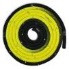 Flerfärgat rep med Swarovskistenar - FIG - Svart/gul