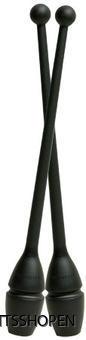 Pastorelli käglor i plast svart 2
