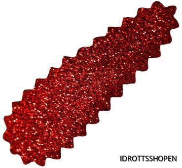 Hårspänne röd