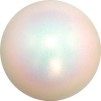 Boll glitter 16 cm, Pastorelli - Vit/glitter
