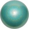 Boll glitter 18cm, Pastorelli - FIG - Turkos glitter (Malaysia Sea)