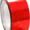 Hologramtejp 11m - Röd