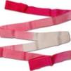 Band, flerfärgat, 6 m Pastorelli - FIG - Cerise/Rosa/Vit 6 m