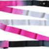 Band, flerfärgat, 6 m Pastorelli - FIG - Svart/Cerise/Vit 6 m