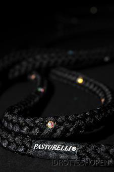 Svart med Swarovskistenar 02403