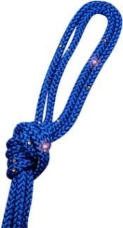 Enfärgat rep m Swarovskistenar - FIG - Blå