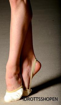 Pastorelli halvsko skinn beige & vit