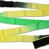 Band, flerfärgat Pastorelli - Svart/Gul/Grön 6 m