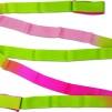 Band, flerfärgat Pastorelli - Cerise/Grön/Rosa 5 m