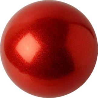 Boll m glitter 16 cm, Pastorelli - Röd/glitter