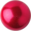 Boll glitter 16 cm, Pastorelli - Röd/glitter (strawberry)