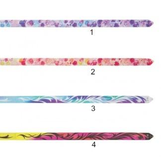 Band Infinity, 6 m Chacott - Lila/Blå blommor 1 (infinity)