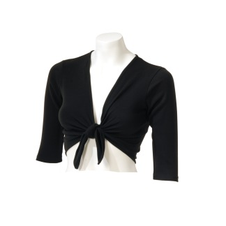Omlott tröja - Svart XS