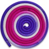 Flerfärgat rep - FIG - Lila/cerice/vit