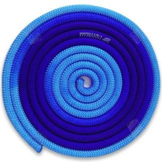 Flerfärgat rep - FIG - Ljusblå/blå
