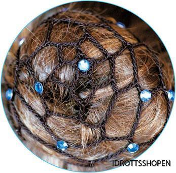 Pastorelli hårnät svart blå safir