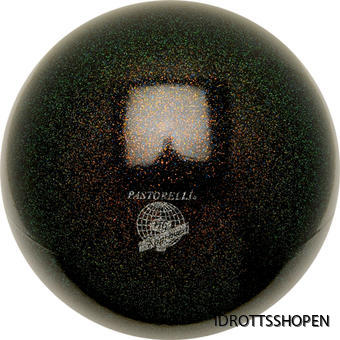 Pastorelli boll 18 cm black glitter
