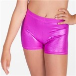 Glansiga hotpants