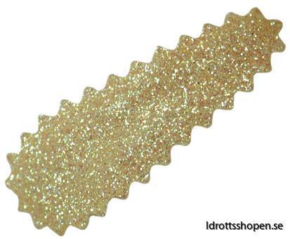 Hårspänne guld