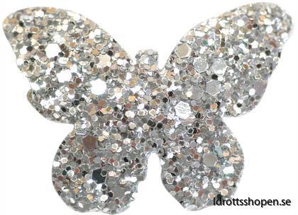 Pastorelli hårsmycke fjäril silver