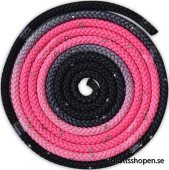 Pastorelli rep svart rosa m stenar