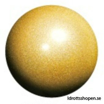 Chacotte boll 18 cm guld