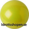 Patorelli boll Ø16 cm gul/glitter