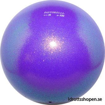 Pastorelli boll Ø16cm lila/glitter