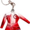 Nyckelring Dräkt - Röd