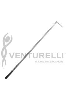 Bandpinne 60 cm, Venturelli - Silver m svart grepp