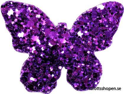 Pastorelli hårsmycke fjäril violet