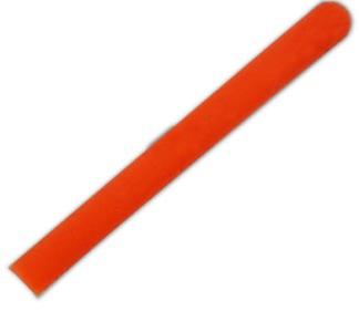 Bandpinne pärlemo 50,5 cm, Pastorelli - Vit med orange grepp 50,5 cm