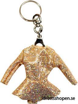 Pastorelli nyckelring gold