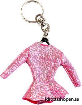 Pastorelli nyckelring fluo pink