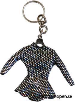Pastorelli nyckelring black