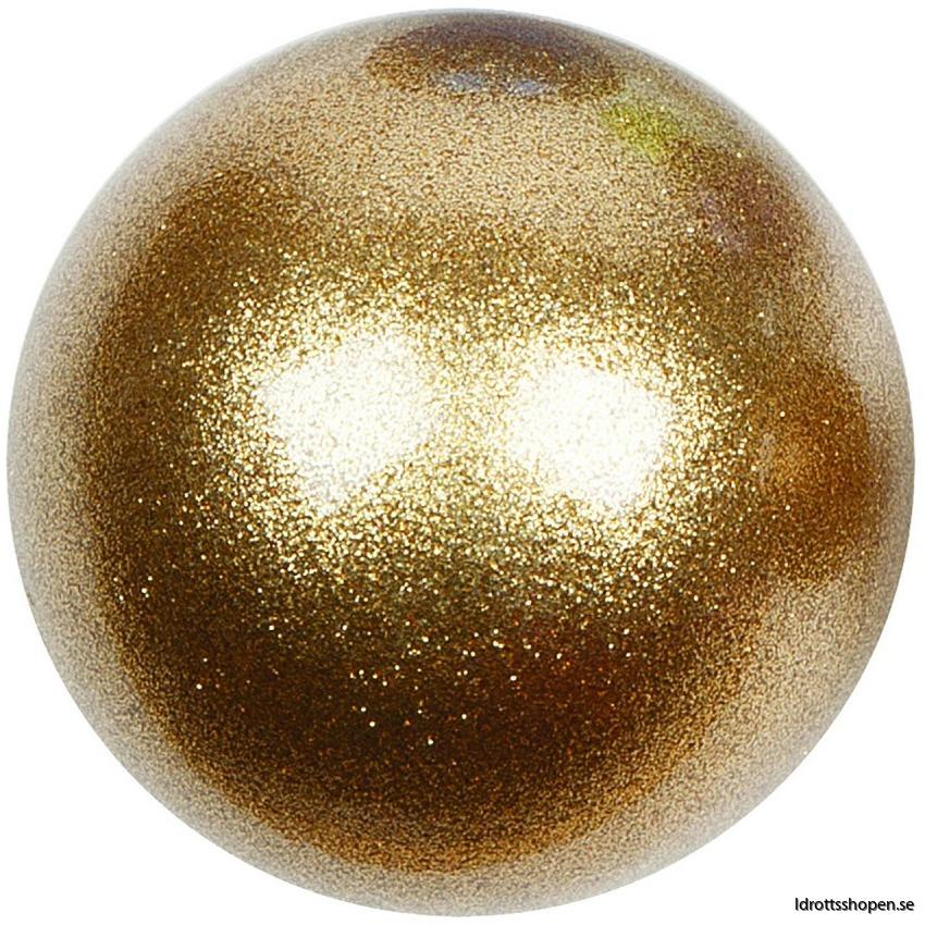 Amaya boll 16 cm guld glitter