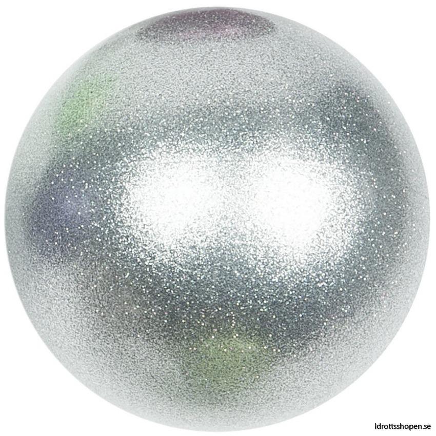 Amaya boll 16 cm silver glitter