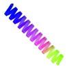 Regnbågsfärgade band 6 m, SASAKI - FIG - Lila/rosa/grön