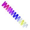 Regnbågsfärgade band 5 m, SASAKI - FIG - Rosa/lila/vit