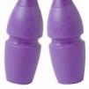 Enfärgade plast/gummikäglor, 45,2 cm Pastorelli - FIG