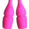 Enfärgande plastkäglor, 44,5 cm Pastorelli - Neon rosa 44,5 cm