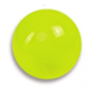 Boll enfärgad 15 cm, Amaya - Gul