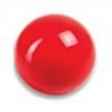 Boll enfärgad 15 cm, Amaya - Röd