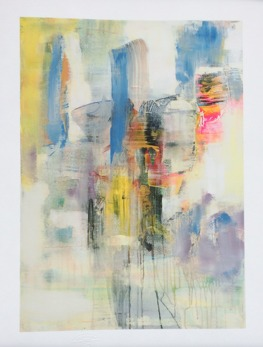 GICLÉE ABSTRACT - Face time