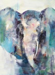 Ocean Elephant - Ocean Elephant 60x80cm