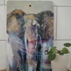 SKÄRBRÄDA Elefantmotiv